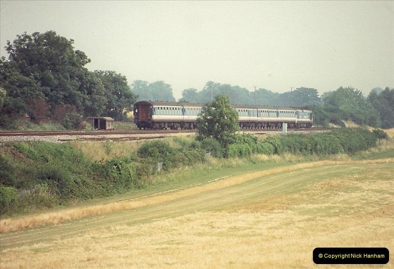 1989-07-25 Battledown Flyover, Basingstoke, Hampshire.  (13)0345