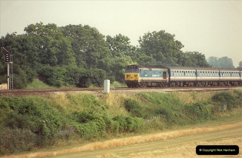 1989-07-25 Battledown Flyover, Basingstoke, Hampshire.  (14)0346