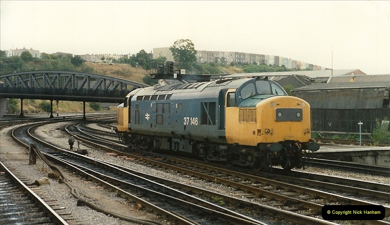 1989-08-19 Bristol Temple Meads, Bristol.  (8)0376