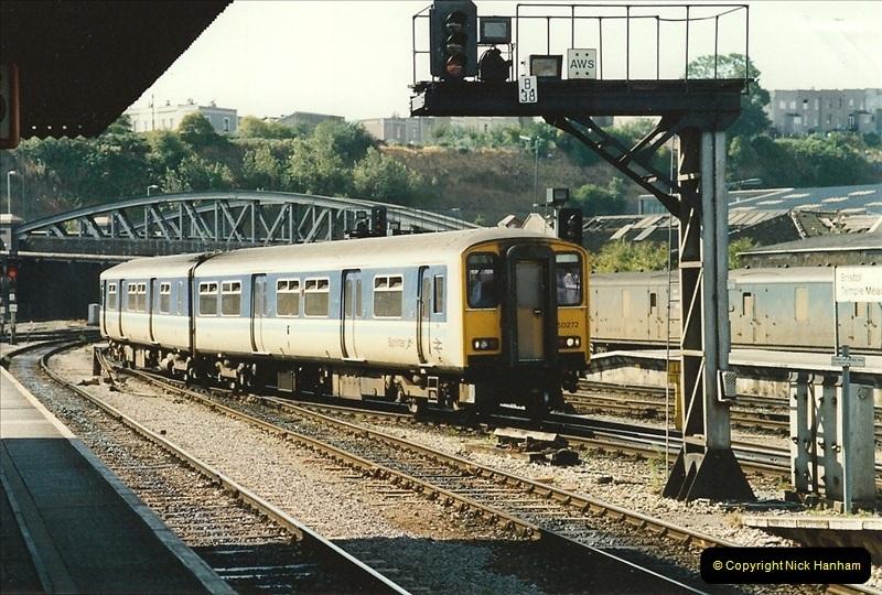 1989-08-20 Bristol Temple Meads, Bristol.  (8)0408
