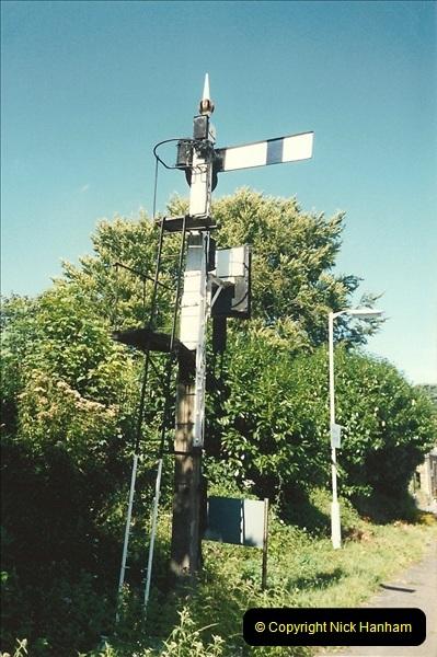 1989-08-20 Yeovil Pen Mill station, Yeovil, Somerset.  (2)0412