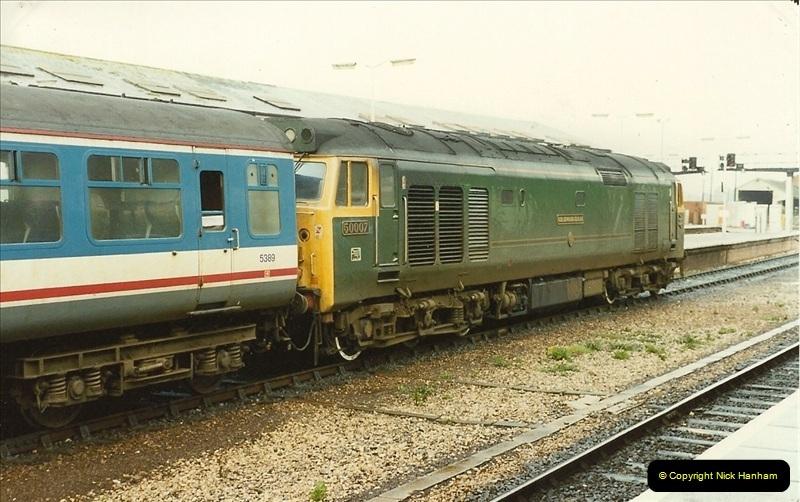1989-10-28 Exeter St. Davids, Exeter, Devon.  (20)0623