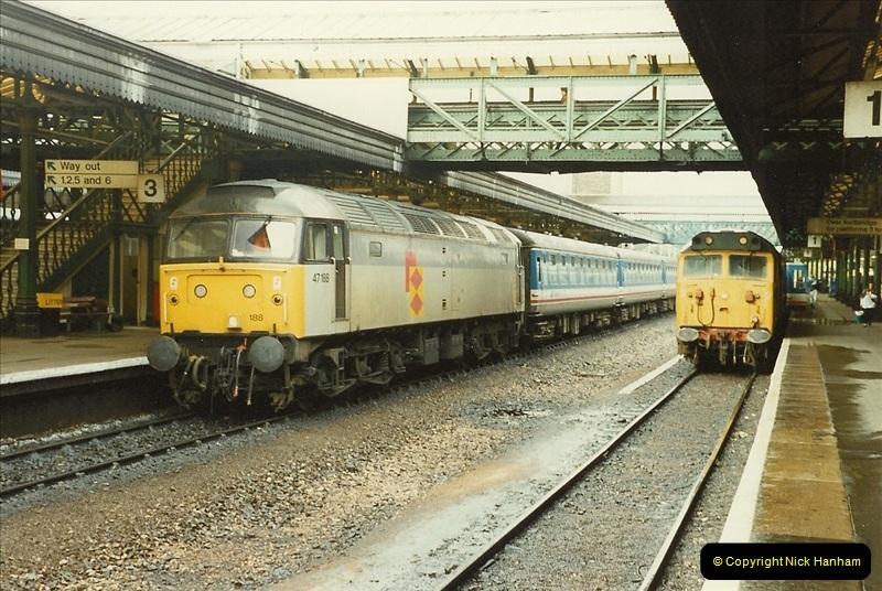 1989-10-28 Exeter St. Davids, Exeter, Devon.  (31)0634