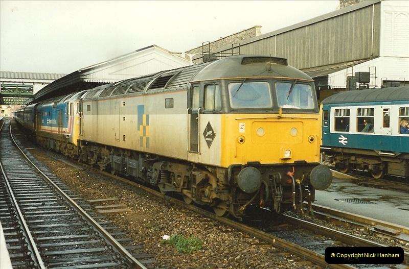 1989-10-28 Exeter St. Davids, Exeter, Devon.  (38)0641