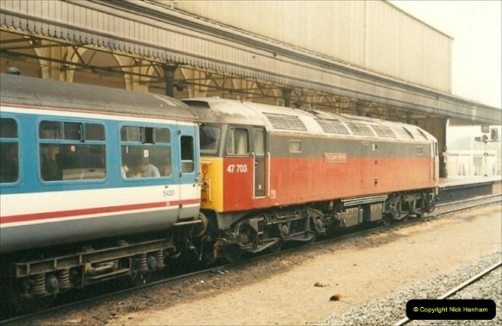 1991-10-27 Exeter St. Davids, Eexeter, Devon.  (2)180