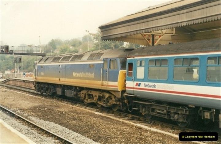 1991-10-27 Exeter St. Davids, Eexeter, Devon.  (12)190