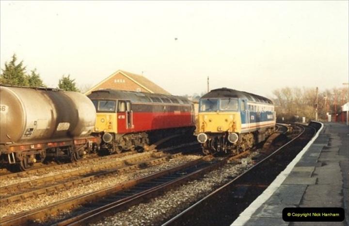 1992-01-06 Salisbury station, Salisbury, Wiltshire.  (6)225