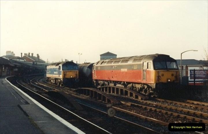 1992-01-06 Salisbury station, Salisbury, Wiltshire.  (7)226