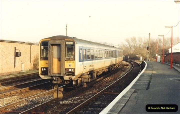 1992-01-06 Salisbury station, Salisbury, Wiltshire.  (11)230