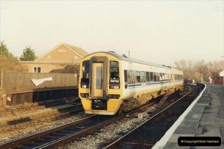 1992-01-06 Salisbury station, Salisbury, Wiltshire.  (12)231