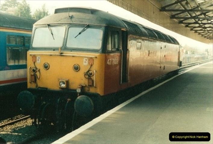 1992-01-06 Salisbury station, Salisbury, Wiltshire.  (17)236