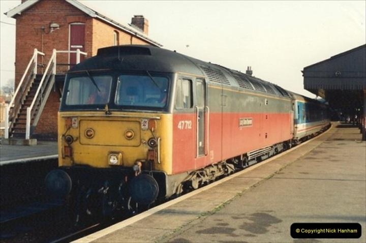1992-01-06 Salisbury station, Salisbury, Wiltshire.  (20)239