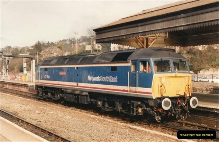 1992-02-15 Exeter St. Davids. Exeter, Devon.  (7)267