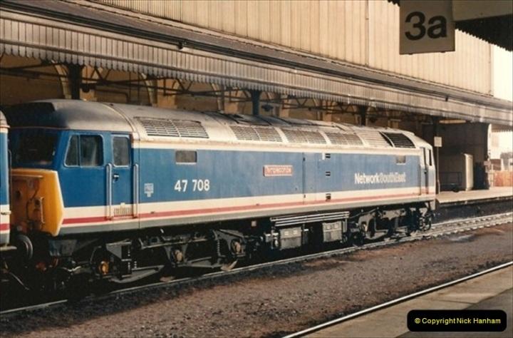 1992-02-15 Exeter St. Davids. Exeter, Devon.  (8)268