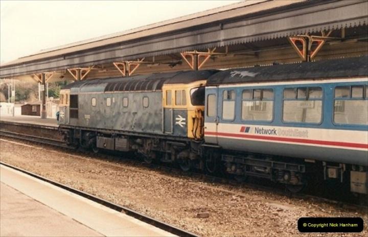 1992-02-15 Exeter St. Davids. Exeter, Devon.  (26)286