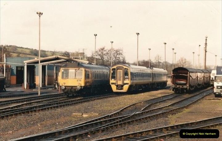 1992-02-15 Exeter St. Davids. Exeter, Devon.  (27)287
