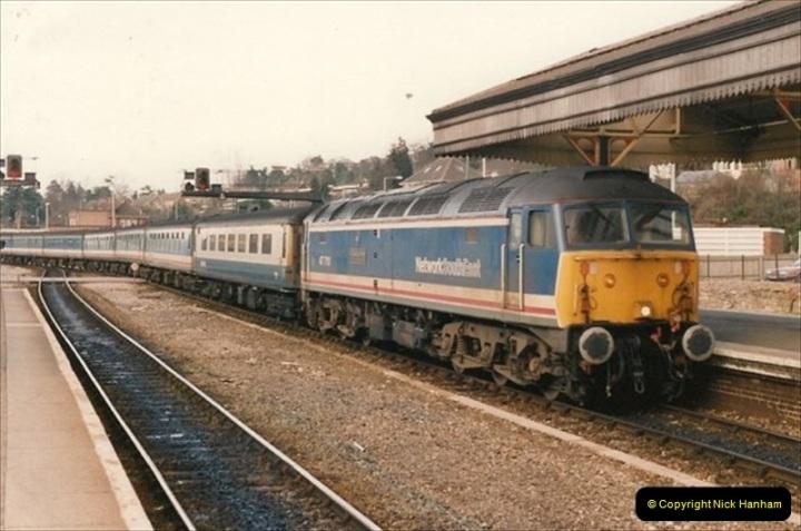 1992-02-15 Exeter St. Davids. Exeter, Devon.  (37)297