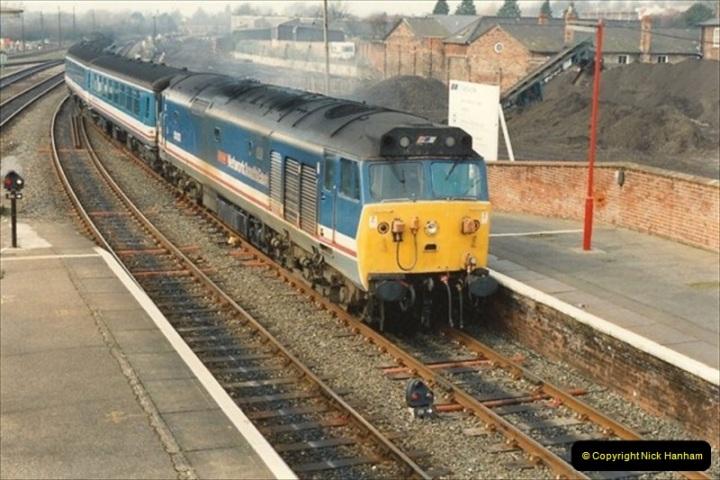 1992-02-29 Salisbury station, Salisbury, Wiltshire.  (26)323