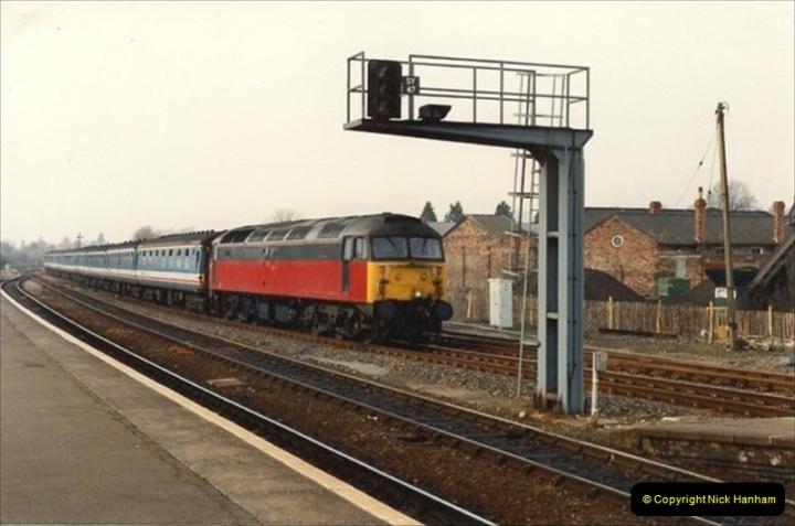 1992-02-29 Salisbury station, Salisbury, Wiltshire.  (35)332