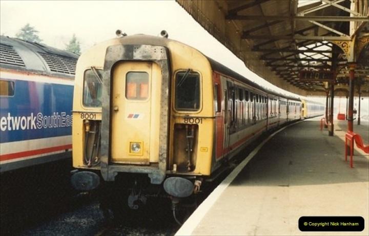 1992-02-29 Salisbury station, Salisbury, Wiltshire.  (59)356