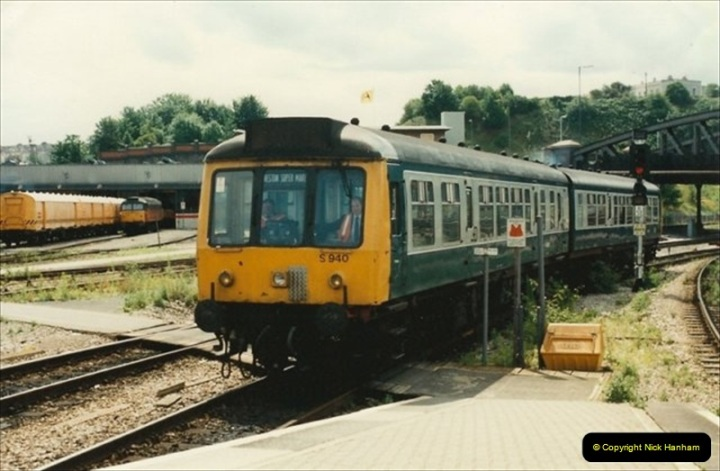 1992-07-22 Bristol Temple Meads, Bristol.  (4)493