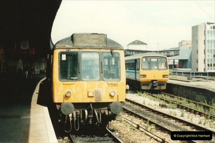 1992-07-22 Bristol Temple Meads, Bristol.  (6)495