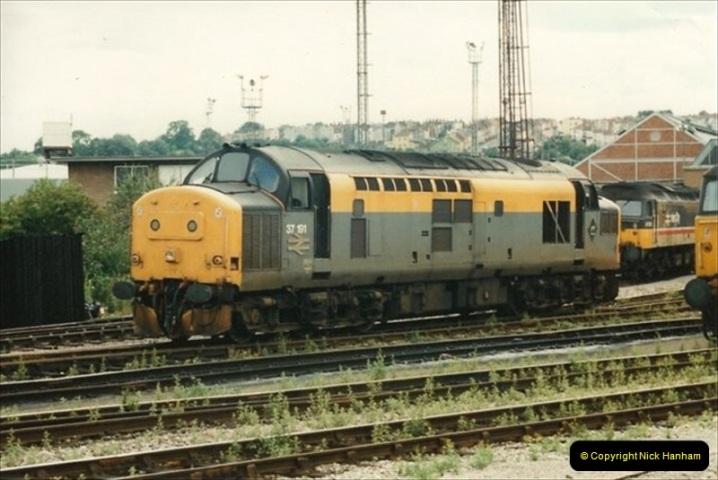 1992-07-22 Bristol Temple Meads, Bristol.  (13)502