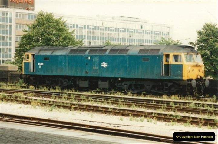 1992-07-22 Bristol Temple Meads, Bristol.  (17)506