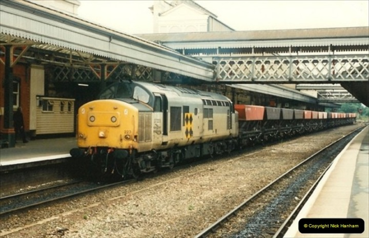 1992-07-23 Exeter station (St. Davids), Exeter,  Devon.  (2)532