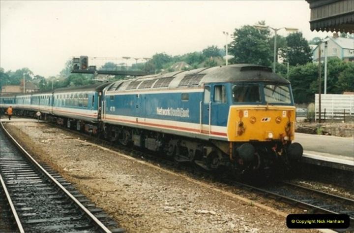 1992-07-23 Exeter station (St. Davids), Exeter,  Devon.  (11)541