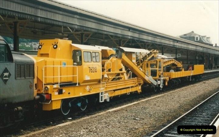 1992-07-23 Exeter station (St. Davids), Exeter,  Devon.  (15)545