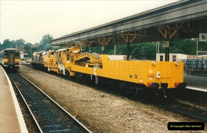 1992-07-23 Exeter station (St. Davids), Exeter,  Devon.  (16)546