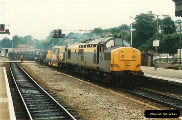 1992-07-23 Exeter station (St. Davids), Exeter,  Devon.  (18)548