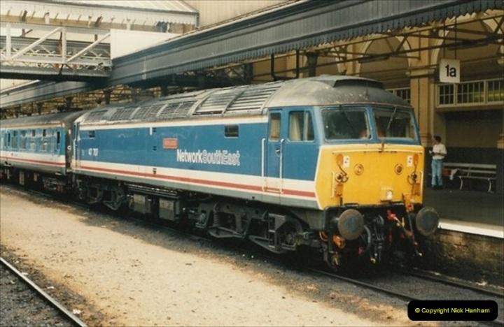 1992-07-23 Exeter station (St. Davids), Exeter,  Devon.  (31)561