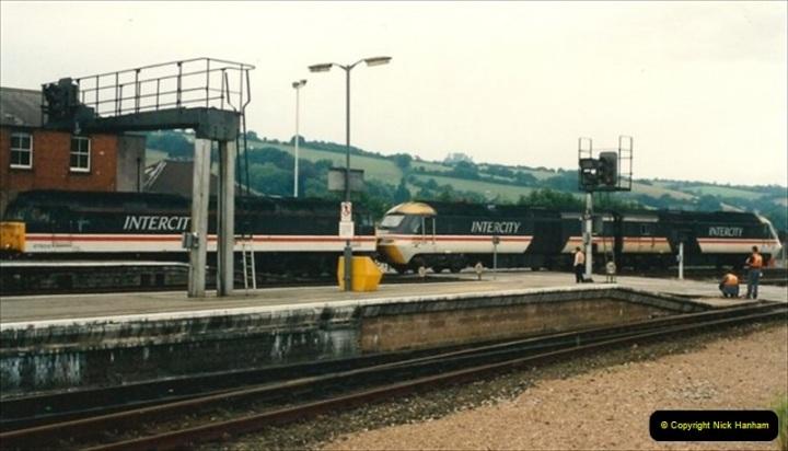 1992-07-23 Exeter station (St. Davids), Exeter,  Devon.  (32)562