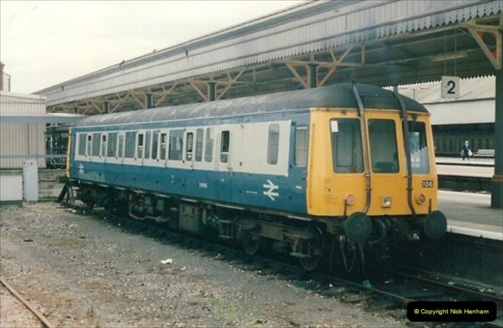 1992-07-23 Exeter station (St. Davids), Exeter,  Devon.  (37)567