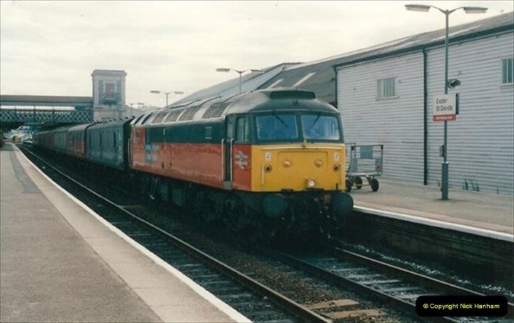 1992-07-23 Exeter station (St. Davids), Exeter,  Devon.  (38)568