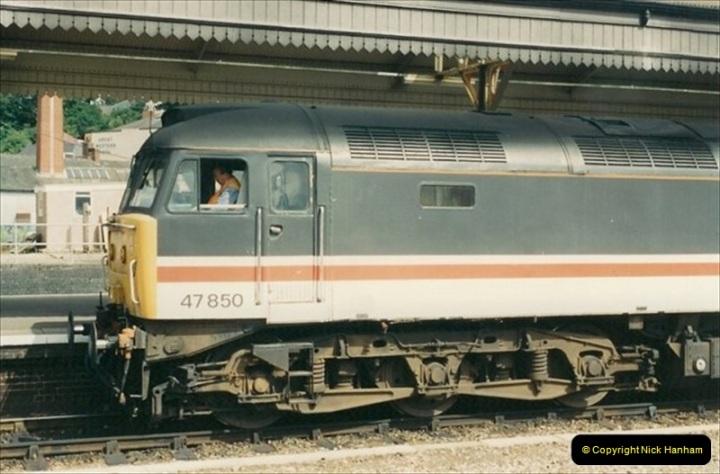 1992-07-23 Exeter station (St. Davids), Exeter,  Devon.  (39)569