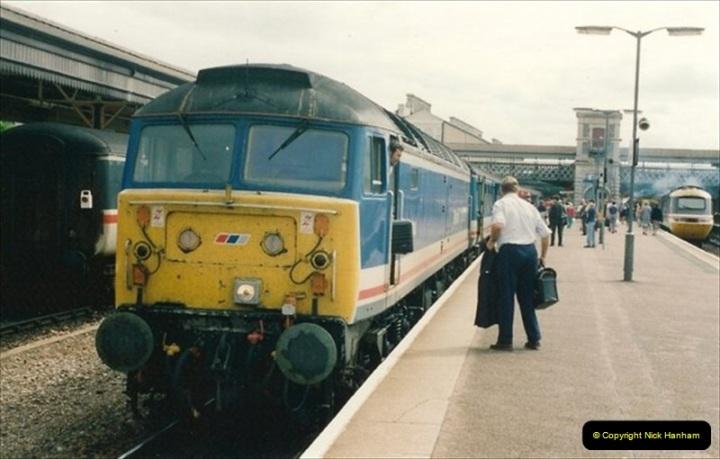 1992-07-23 Exeter station (St. Davids), Exeter,  Devon.  (40)570