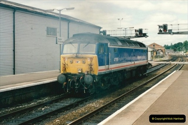 1992-07-23 Exeter station (St. Davids), Exeter,  Devon.  (41)571