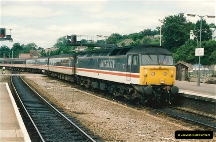 1992-07-23 Exeter station (St. Davids), Exeter,  Devon.  (42)572