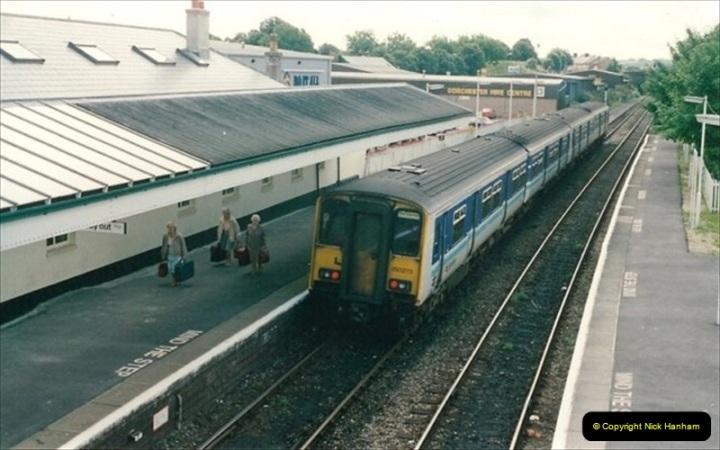 1992-07-25 Dorchester West, Dorchester, Dorset.  (4)578