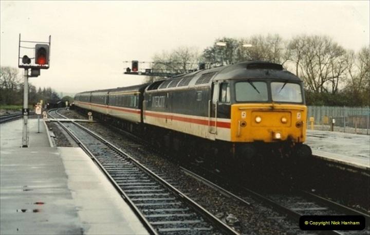 1992-11-21 Exeter St. Davids station, Exeter, Devon.  (22)681