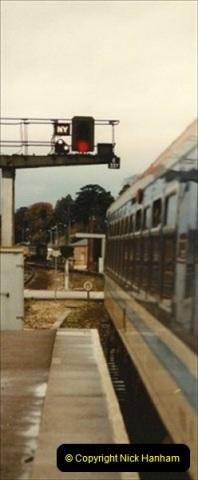 1992-11-21 Exeter St. Davids station, Exeter, Devon.  (23)682