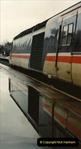 1992-11-21 Exeter St. Davids station, Exeter, Devon.  (24)683