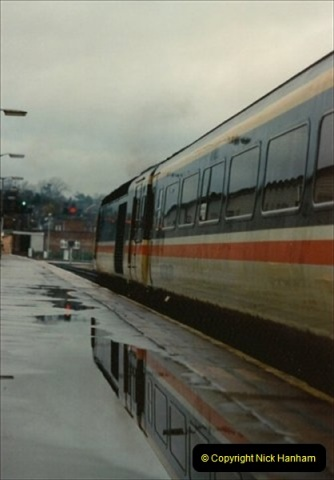 1992-11-21 Exeter St. Davids station, Exeter, Devon.  (25)684