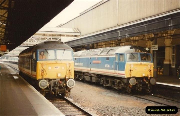 1992-11-21 Exeter St. Davids station, Exeter, Devon.  (35)694