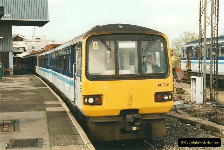 1999-04-24 Bristol Temple Meads, Bristol.  (6)109