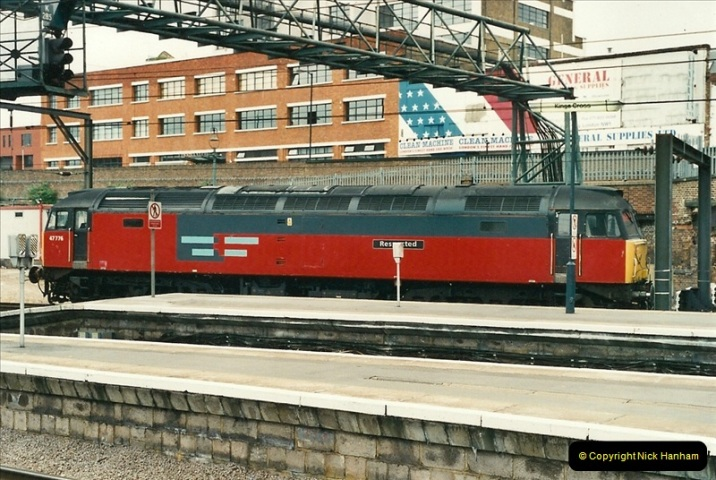 2000-07-22 to 23 London Kings Cross.  (9)509