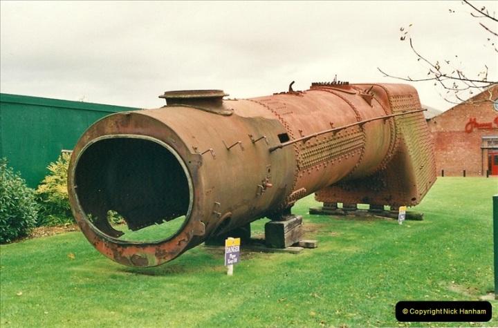 2000-11-08 Steam Museum, Swaidon, Wiltshire.  (3)556